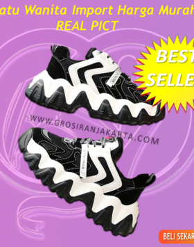 Sepatu Wanita Sneakers Asli Import