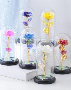 Lampu Hias Bunga Dalam Tabung
