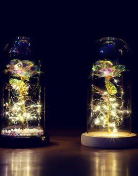 Lampu Hias Bunga Mawar Dalam Tabung Murah