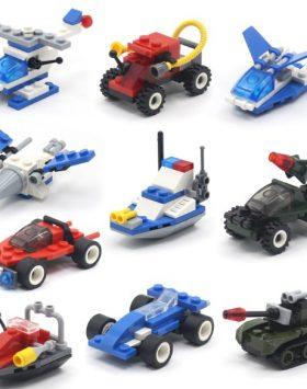Mainan Anak Anak Mobil Lego Balok