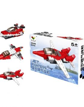 Mainan Anak Lego 3 In 1 Jet Pesawat Tempur