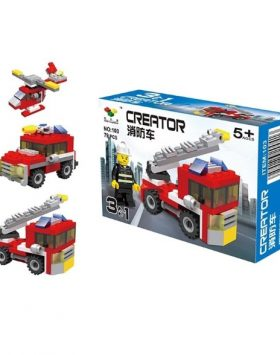 Mainan Anak Lego 3 In 1 Pemadam Kebakaran