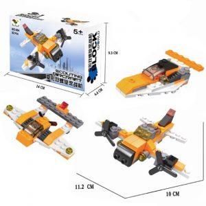 Mainan Edukasi Anak Lego 3 In 1 Pesawat
