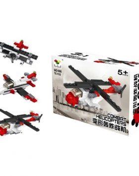 Mainan Edukasi Anak Lego 3 In 1 Pesawat Helikopter