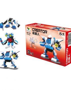 Mainan Edukasi Anak Lego Robot 3 In 1