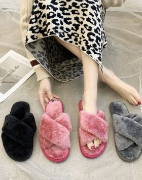 Sandal Bulu Silang Import Harga Murah