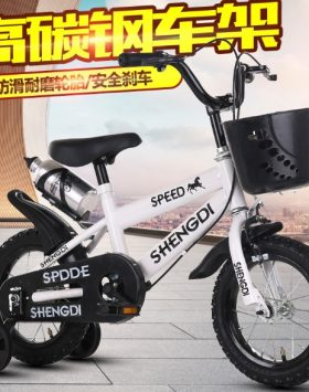 Sepeda Anak Roda 4 Terbaru Ring 14 Inch