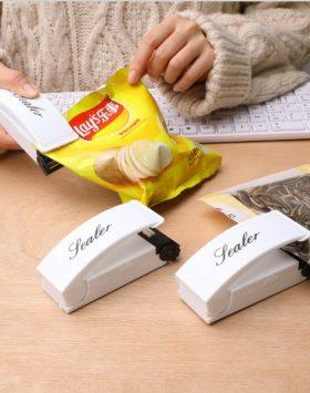 Alat Perekat Penyegel Plastik Electrik Mini Hand Sealer