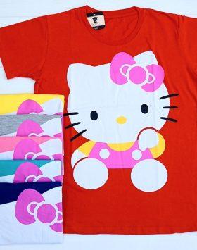 Baju Kaos Wanita Lucu Hello Kitty