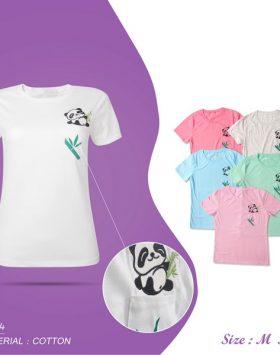 Kaos Wanita Remaja Panda Lucu Murah
