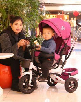 Kereta Dorong Bayi Stroller Lipat Multifungsi