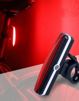 Lampu Belakang Sepeda LED USB