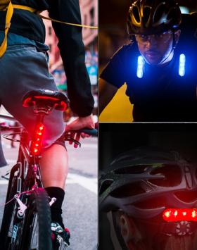 Lampu Sepeda LED USB Paling Terang