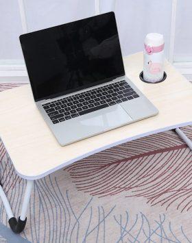 Meja Lipat Laptop Portable Minimalis