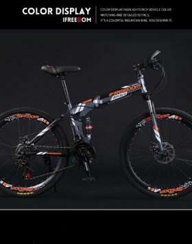 Sepeda Gunung Gowes MTB 24 Inch Speed 21