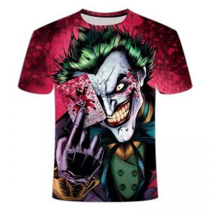 Kaos Anak Anak Joker 3 Dimensi Import