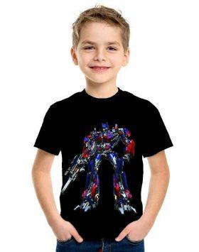 Kaos Anak Murah Transformers Optimus Prime 3d