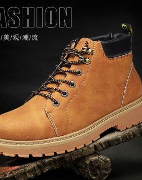 Sepatu Boots Pria Casual Import Terlaris
