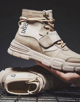 Sepatu Pria Boots Tinggi Import
