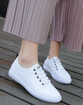 Sneakers Wanita Sepatu Warna Putih