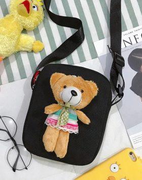 Tas Wanita Selempang Boneka Beruang