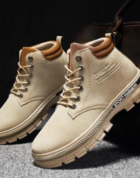 Sepatu Boots Pria Casual Harga Termurah