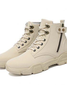 Sepatu Boots Pria Resleting Terbaru 2020