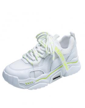 Sepatu Fashion Sneakers Bernapas Warna Putih