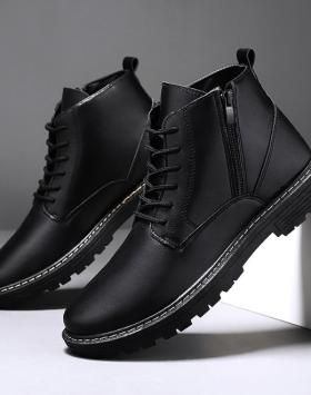Sepatu Formal Pantofel Resleting Berkualitas
