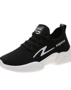 Sepatu Kets Wanita Sneakers Murah Warna Hitam