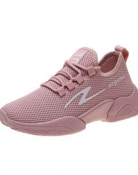 Sepatu Kets Wanita Sneakers Murah Warna Pink