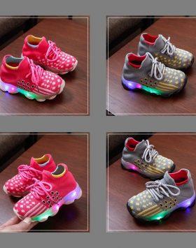 Sepatu LED Anak Laki Laki Perempuan Harga Grosir