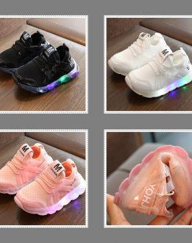 Sepatu Led Anak Perempuan Dan Laki Laki Umur 3 Tahun