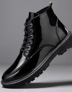Sepatu Pantofel Boots Pria Tinggi Murah