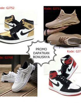 Sepatu Pria Sneakers Import Trend 2020