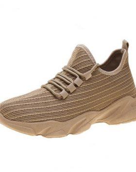 Sepatu Wanita Sneakers Import Warna Coklat