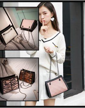 Sling Bag Wanita Korea Selempang Rantai
