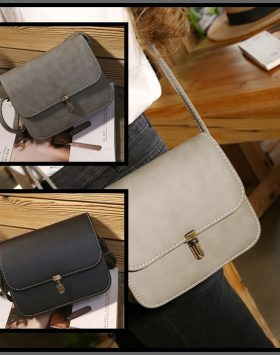 Sling Bag Wanita Simple Elegan Kulit Import