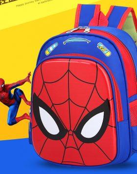 Tas Ransel Sekolah Anak Karakter Spiderman