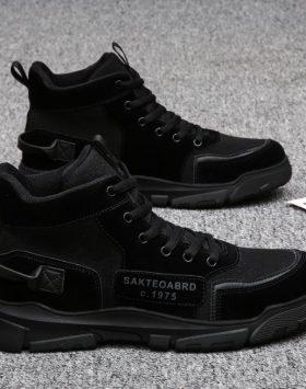 Sepatu Boots Pria Warna Hitam Harga Murah