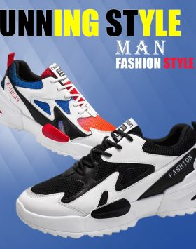 Sepatu Pria Sport Running Sneakers Import