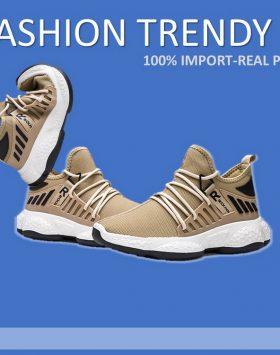 Sepatu Pria Trendy Kekinian Warna Coklat
