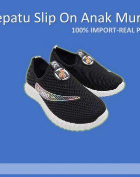 Sepatu Selop Slip On Anak Laki Laki Murah