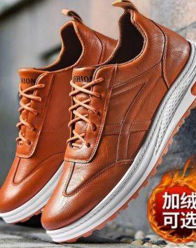 Sepatu Casual Pria Kulit Sintetis Terbaik Import