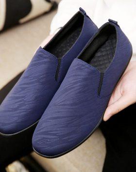 Sepatu Casual Slip On Pria Tanpa Tali Terbaru